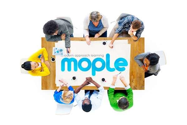 Logo da MOPLE em papel
